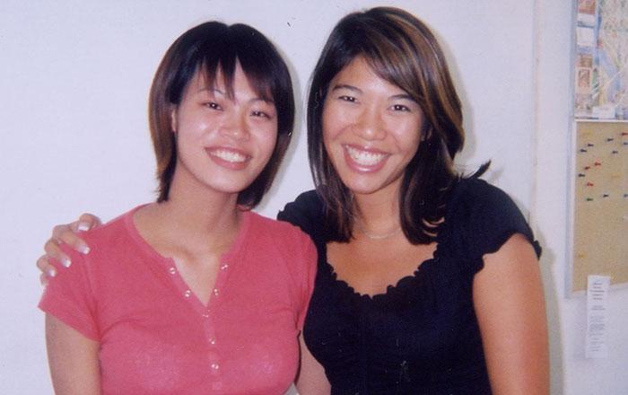 語学留学 専門留学 バンクーバー 学校の先生と Yorikoさん