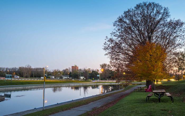 ピーターボロの公園