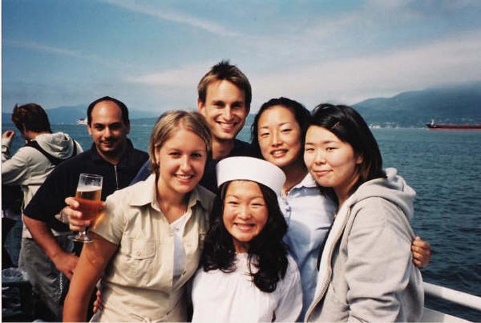 語学留学 バンクーバー Asamiさん 仲間と旅行中