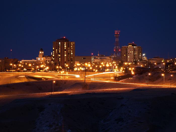 レスブリッジと夜景