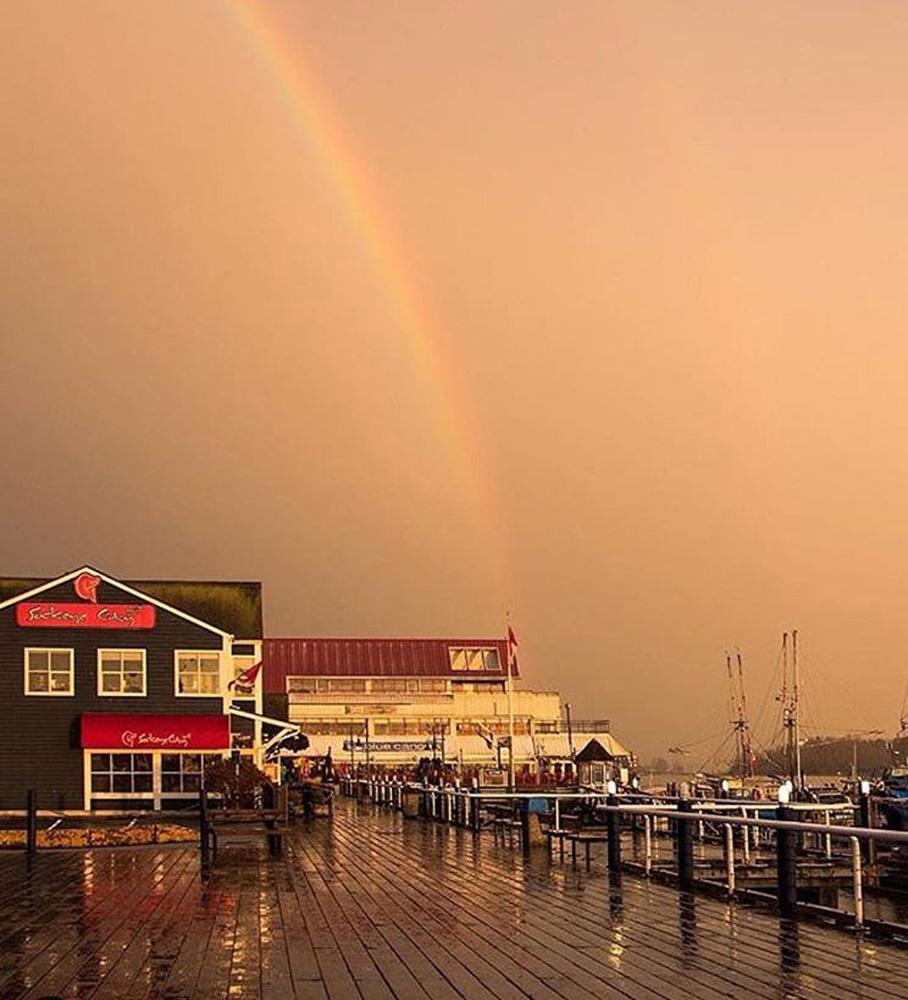 リッチモンドの虹