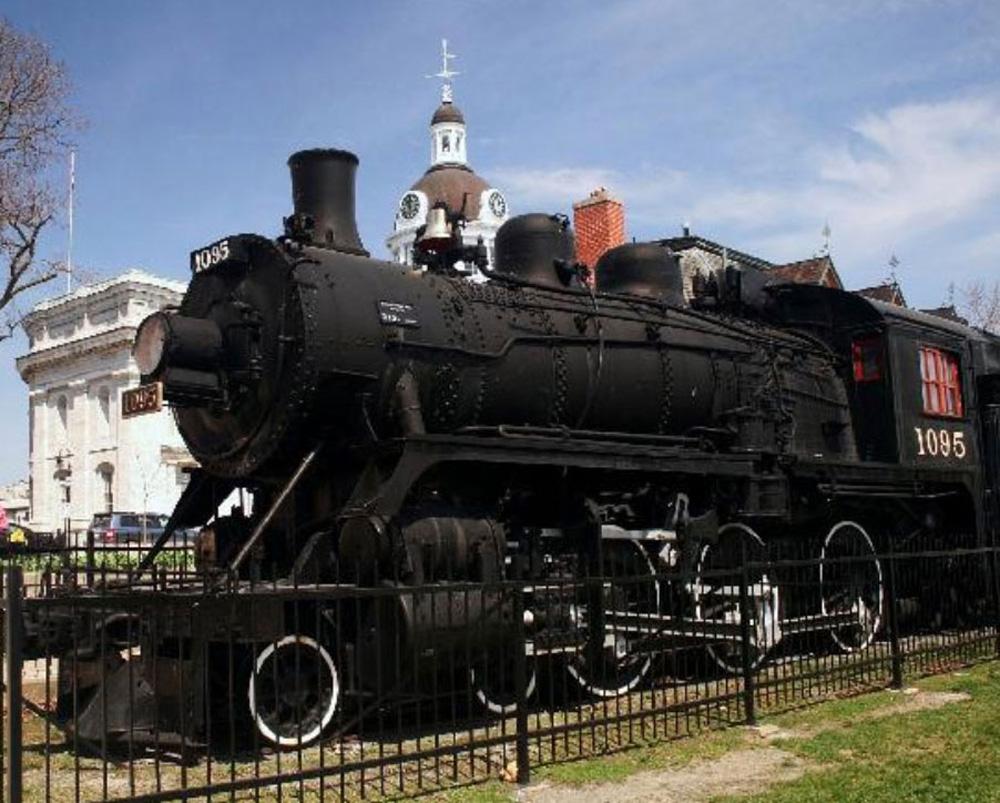 キングストンの機関車