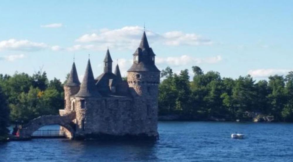 キングストンのサウザンドアイランドの城