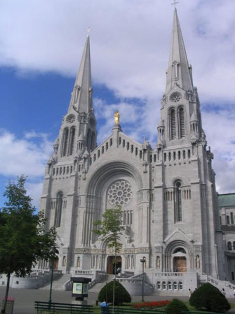ケベックシティの大聖堂