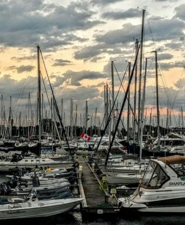 ミシサガの港