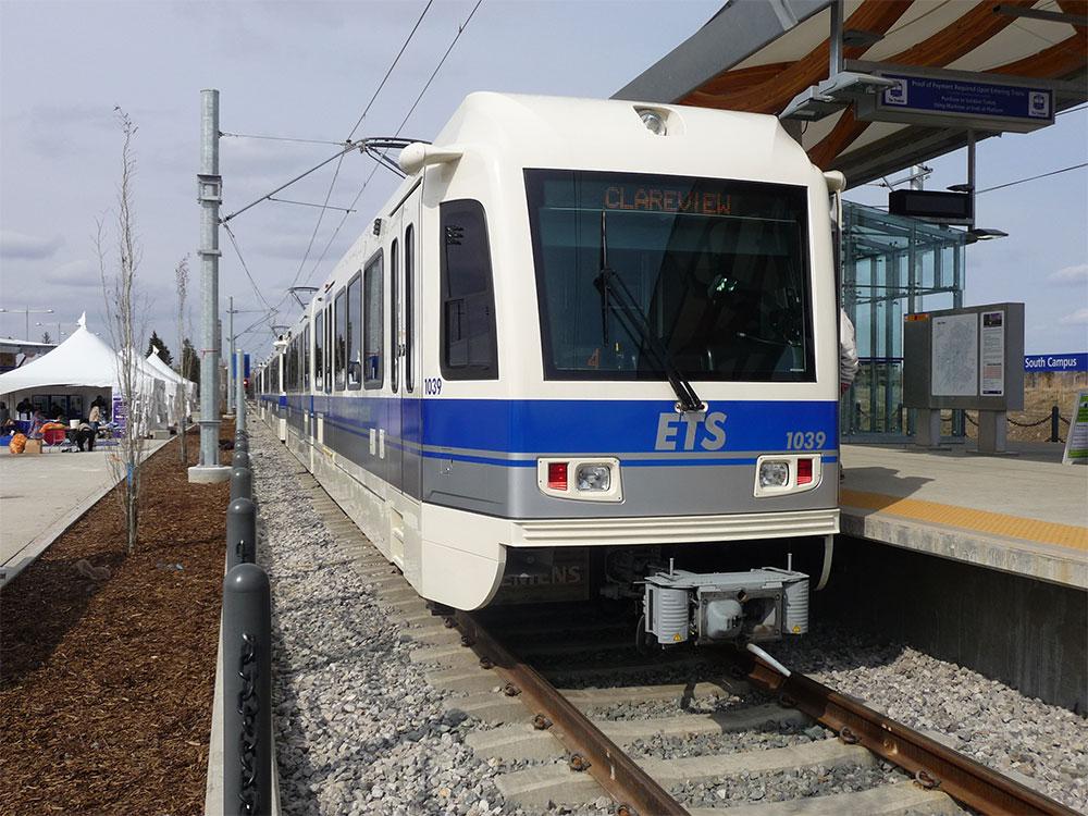 エドモントン LRT