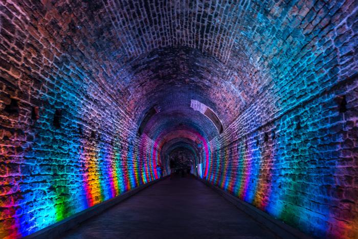 ブロックビルのトンネル