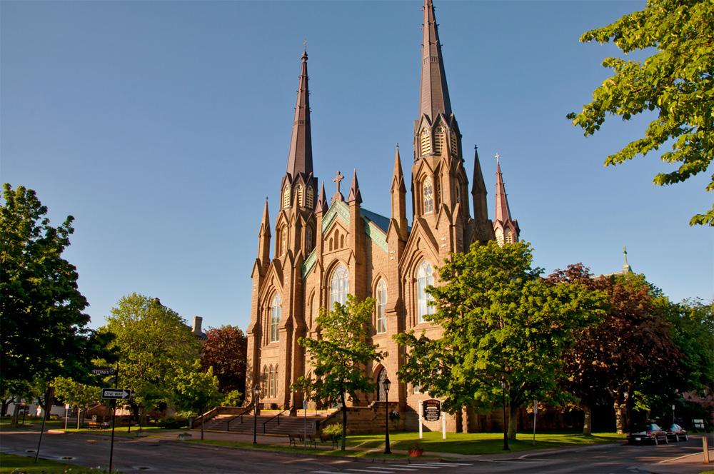 シャーロットタウンの大聖堂