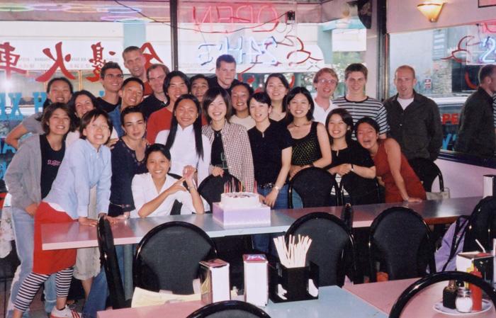 語学留学 バンクーバー Asamiさん 学校の愉快な仲間達