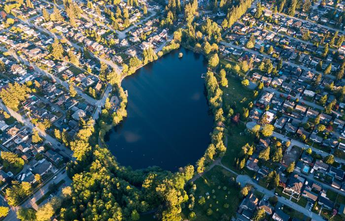 コキットラムの美しい湖