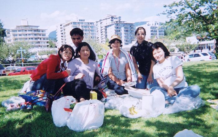語学留学 専門留学 バンクーバー 大好きなホストファミリーとピクニック Yorikoさん