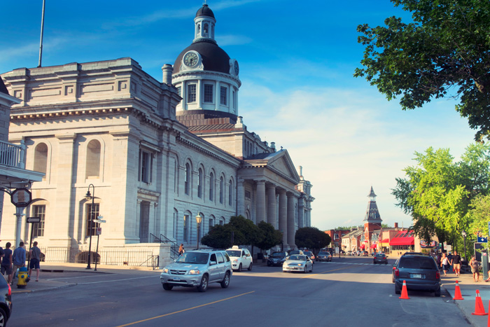 キングストンの歴史的建造物