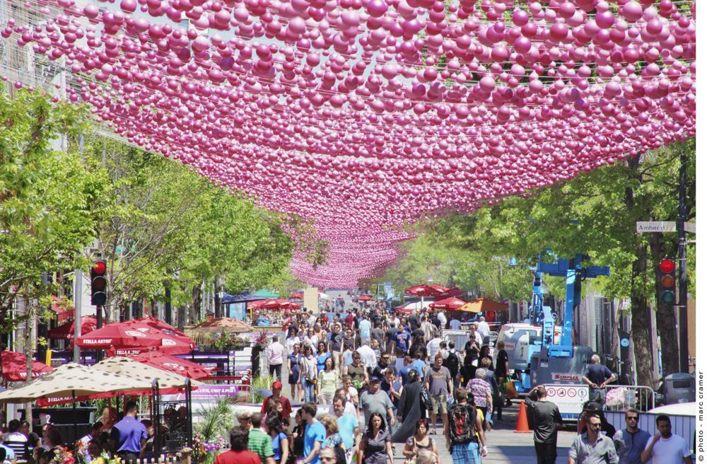 モントリオールのフェスティバル