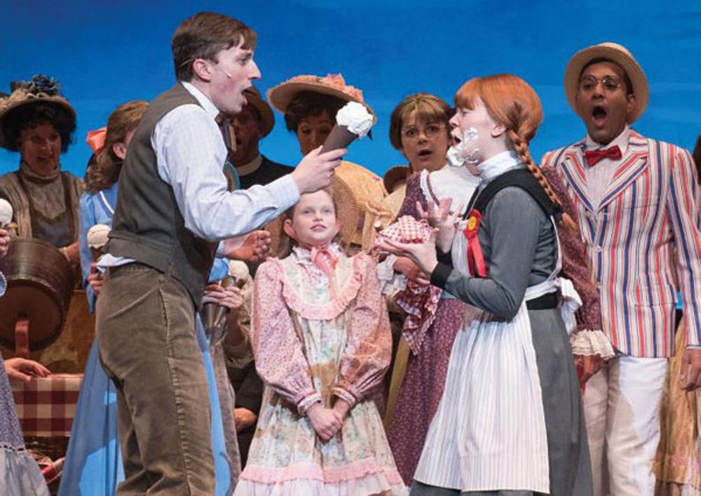 シャーロットタウンの赤毛のアンのミュージカル
