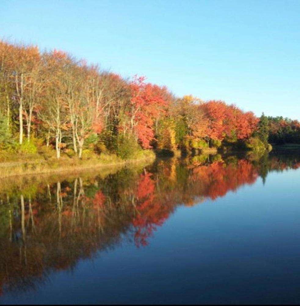 モンクトンの秋の景色