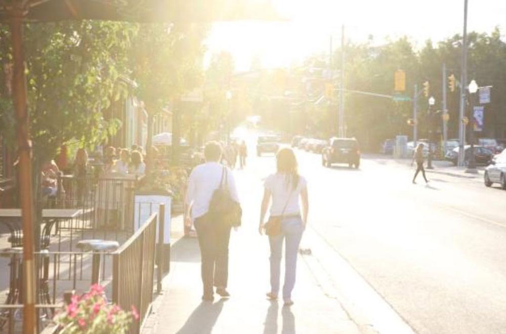 ピーターボロの街を散歩