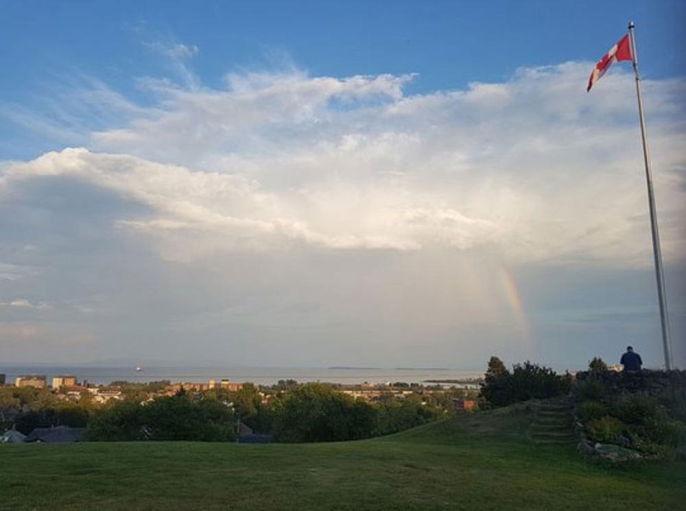 サンダーベイの虹