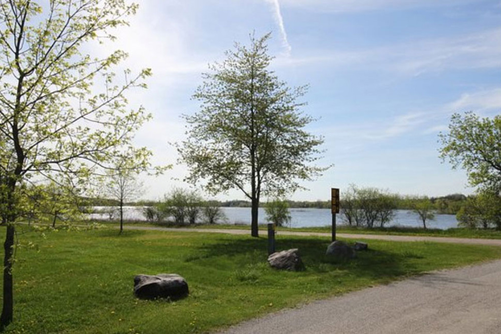 ゲルフの湖畔