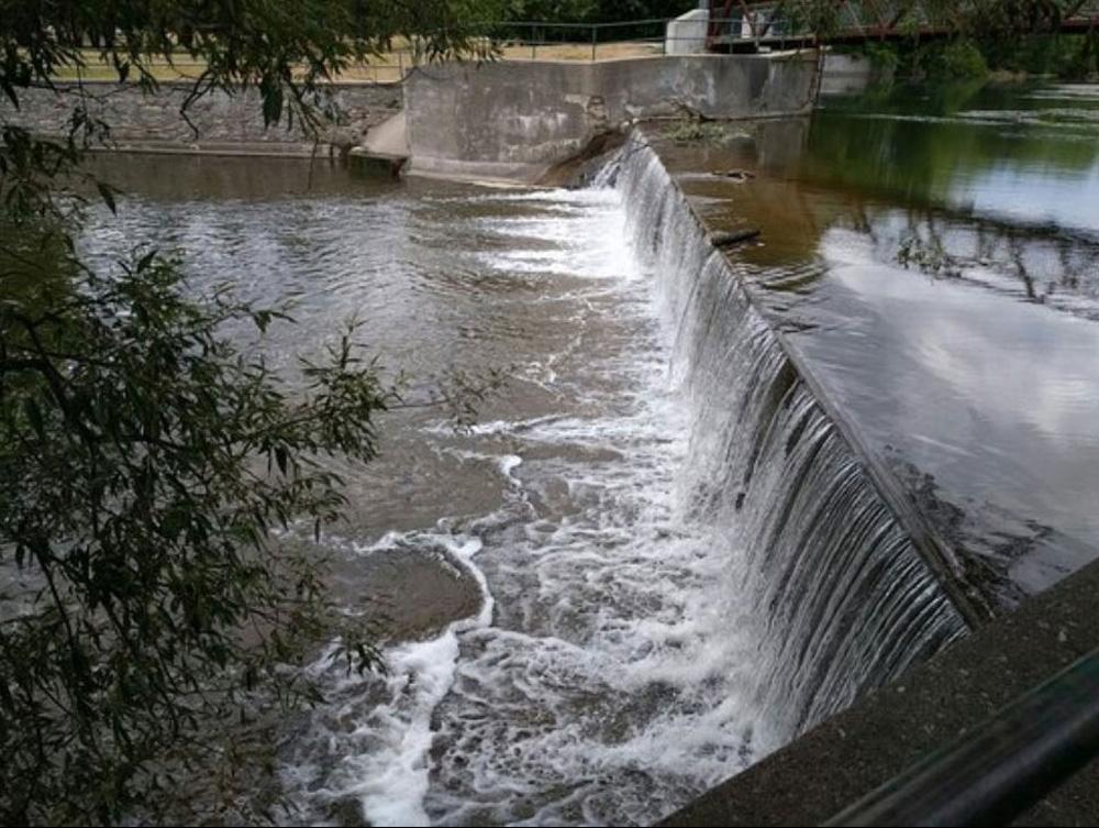 ゲルフの川の流れ