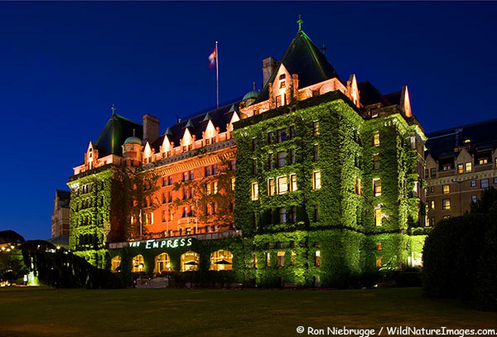 歴史的なエンプレスホテル ビクトリア
