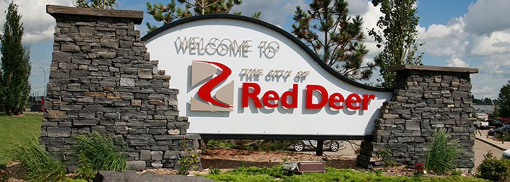 レッドディア Welcome to Red Deer