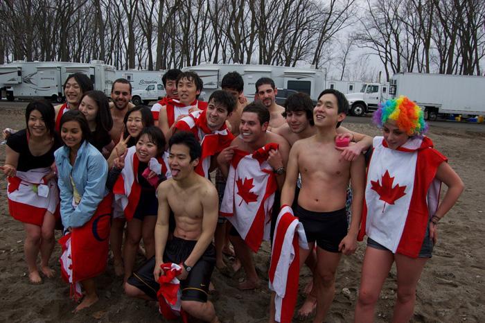 OHCトロント ビーチで学校の仲間と