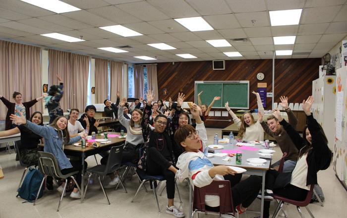 ラングレー教育委員会 留学生の集まり