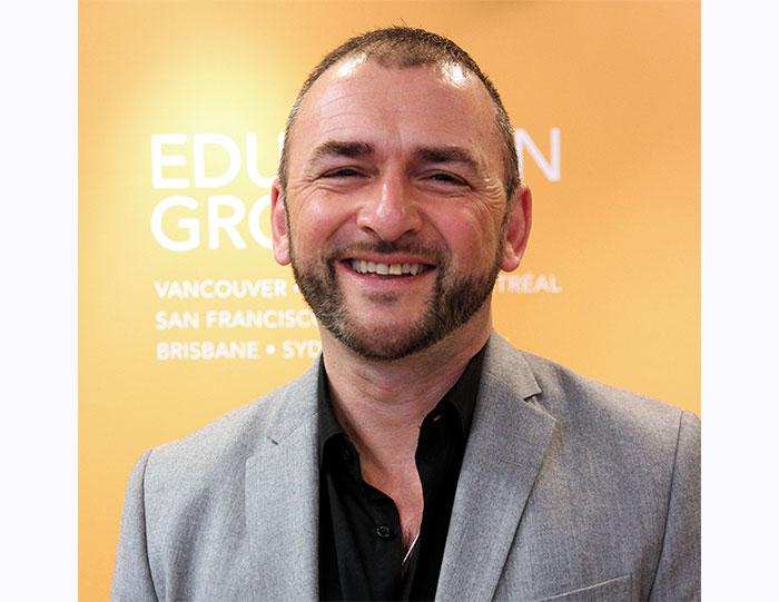 モントリオールキャンパスディレクターDaniel-Lefortさん