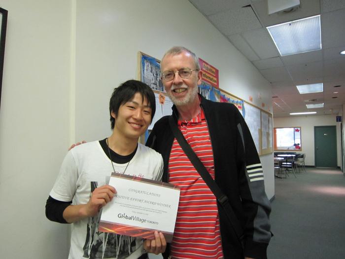トロントで語学留学を実現されたKenseiさん