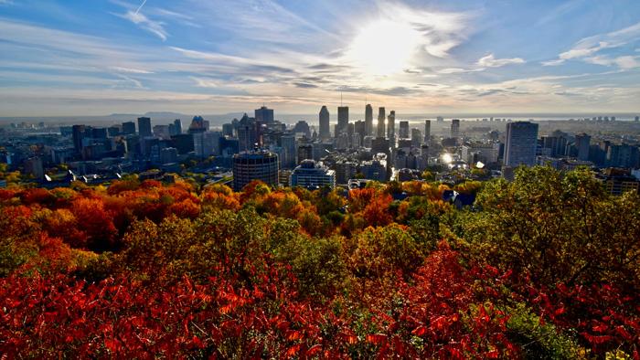秋のモントリオール