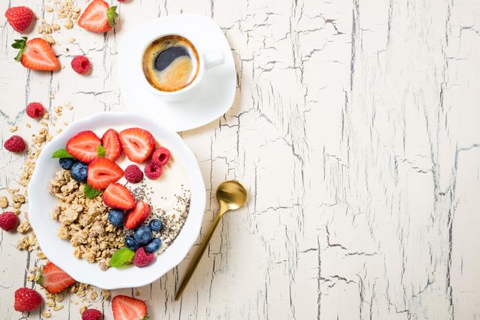 カナダの留学生の典型的な一日 朝食