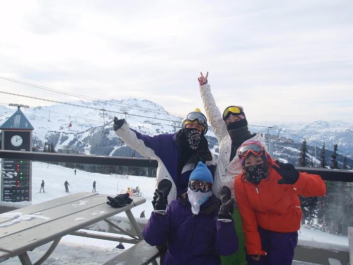 ウィスラーでスキー留学・スノーボード留学をされたAkinobuさん