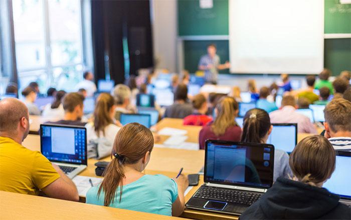 カナダ大学留学、授業の様子