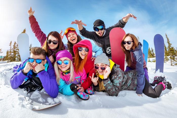 カナダ スキースノーボード留学 スノーボーダーのな方達