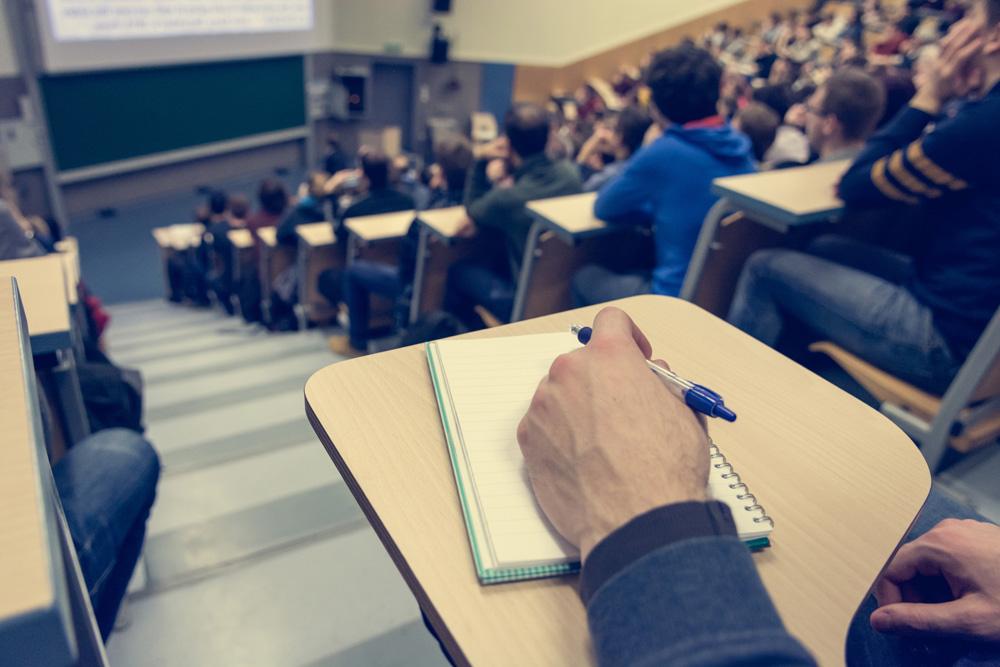 大学の授業の様子