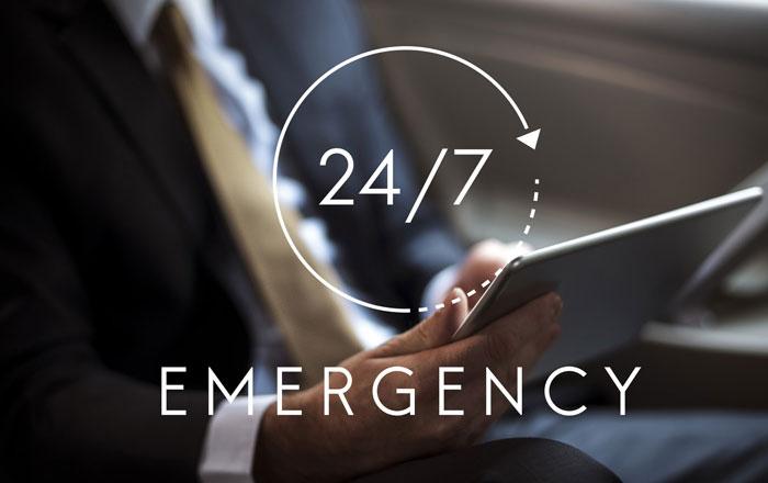 サービス(カナダ) 緊急時のサポート