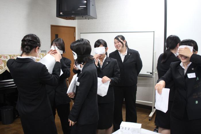 日星高校看護科様での授業中の様子