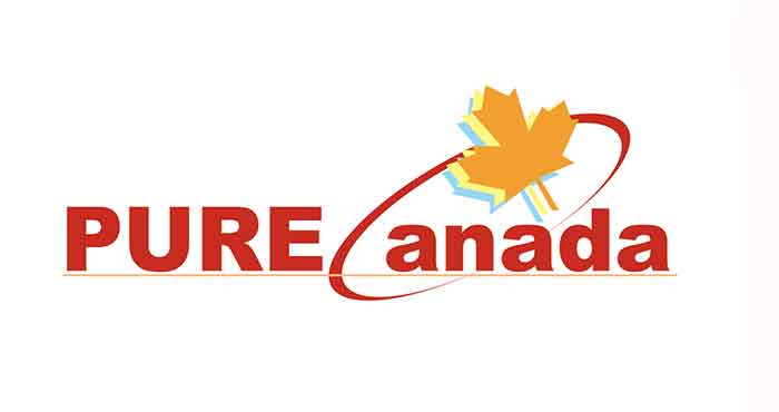 ピュアカナダの願いを込めた旧ロゴ