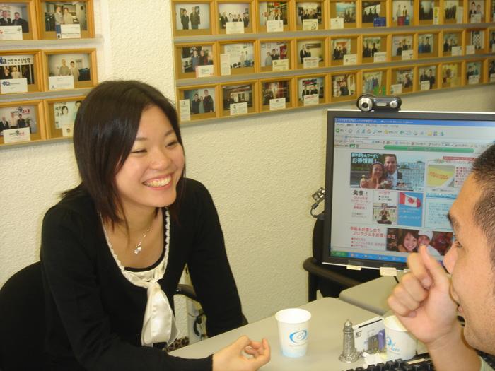 サービス(日本) 自慢の徹底カウンセリング