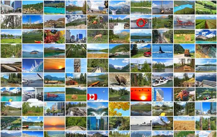 観光世界一のカナダ