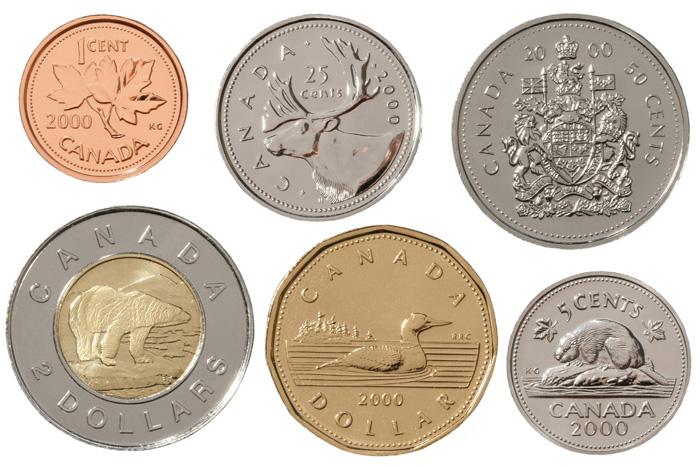 カナダドル 通貨 カナダのコイン