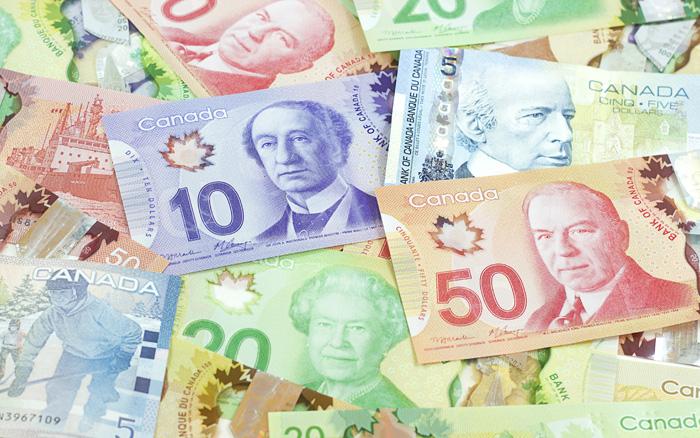 カナダドル 通貨 カナダの紙幣