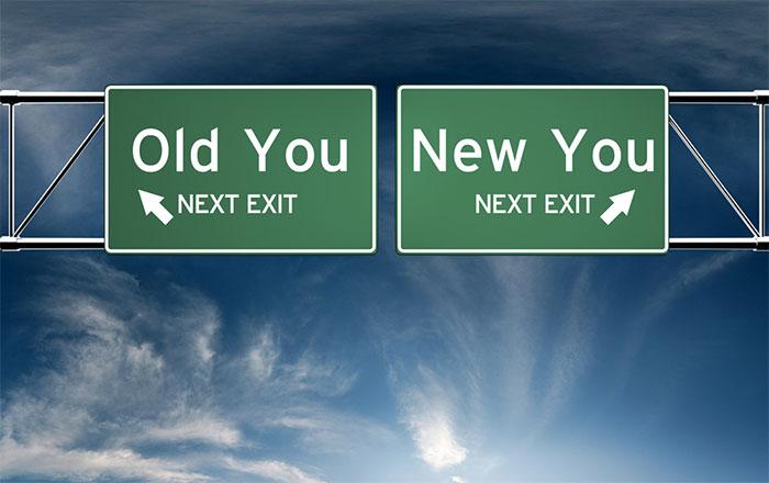 古い自分から、新しい自分へ