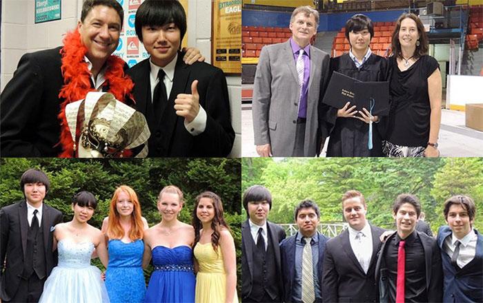 ノバスコシア州で高校留学の卒業を迎えたSoshiさん