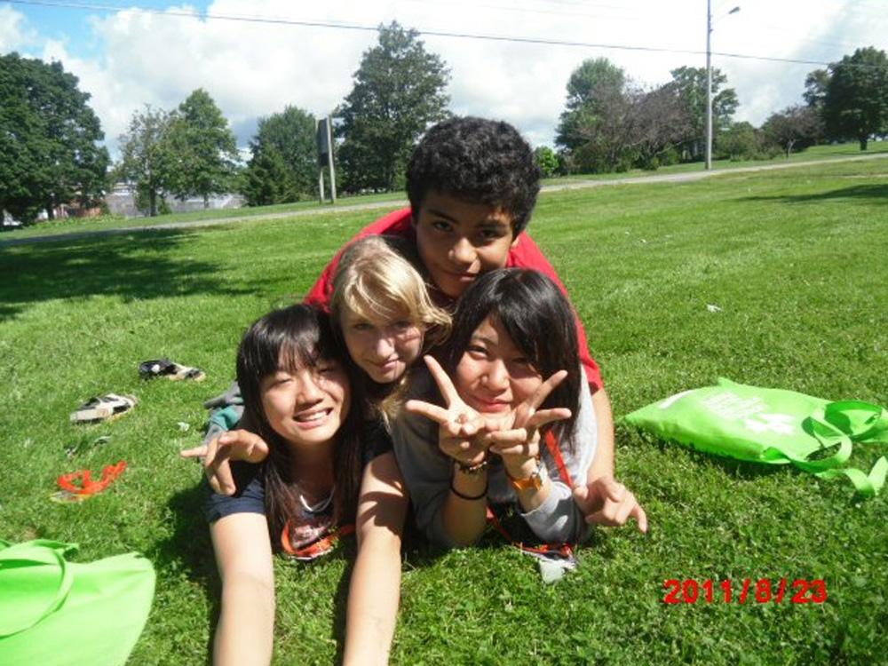 ノバスコシア州で高校留学を実現されたEikoさん