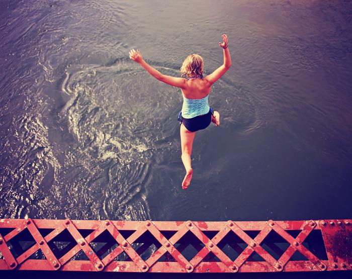 心構えを考える 新しい世界に飛び込むのは勇気がいる