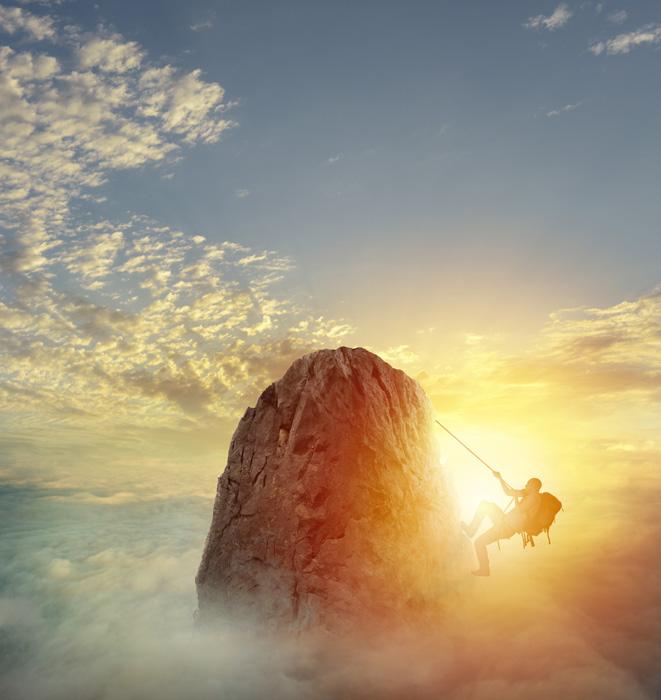 心構えを考える 登り切る覚悟