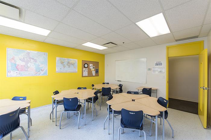 VanWestの教室の風景