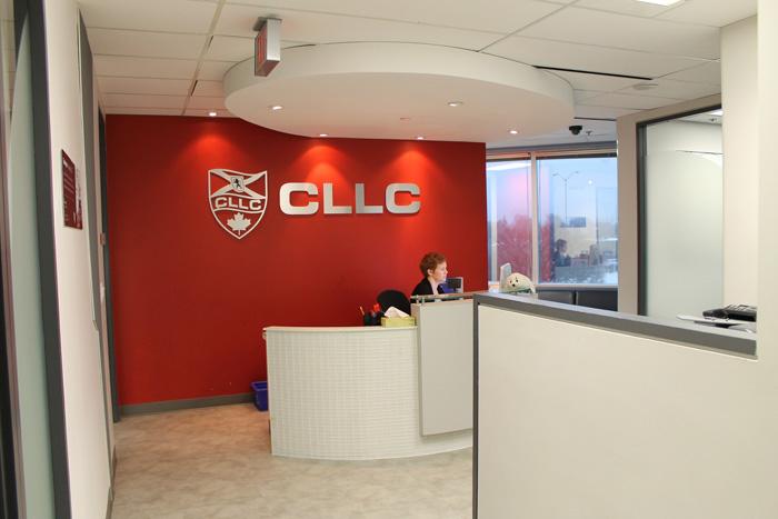 CLLC オタワ 受付