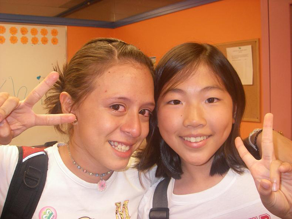 バンクーバーでジュニアサマー留学に参加され笑顔のYukikoさん